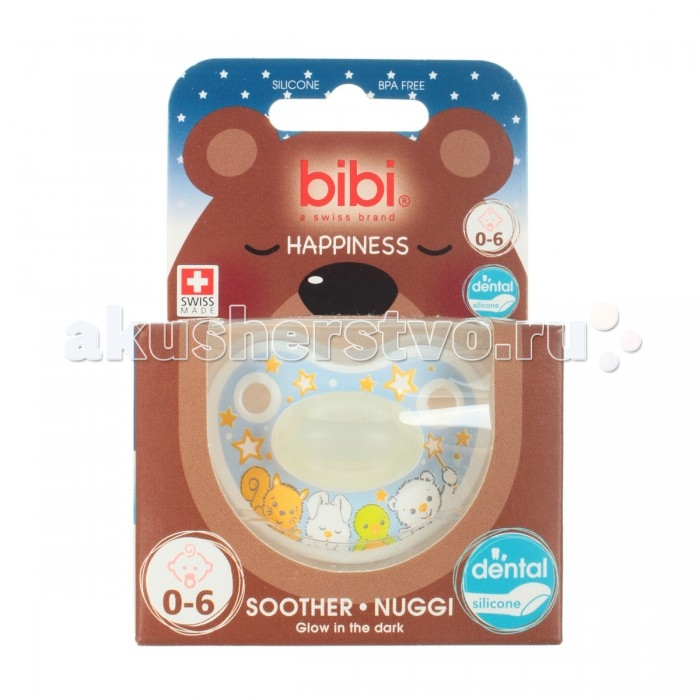 �������� Bibi Premium ������� ���������� � ������� 0-6 ���. Happiness Glow in the Dark