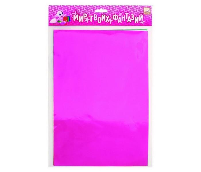 Fancy Creative Набор цветной фольгированной бумаги A4 6 цв. 6 л