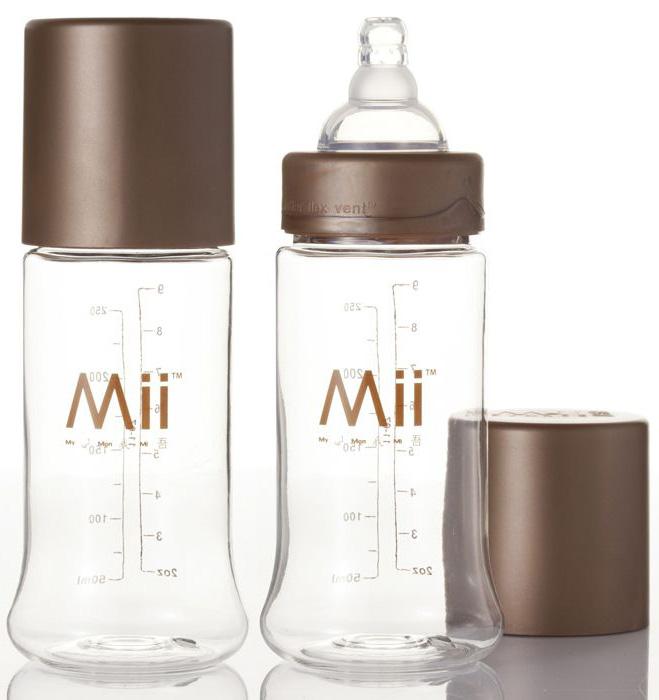 Бутылочки Mii ForEver пластик 2 шт. 266 мл