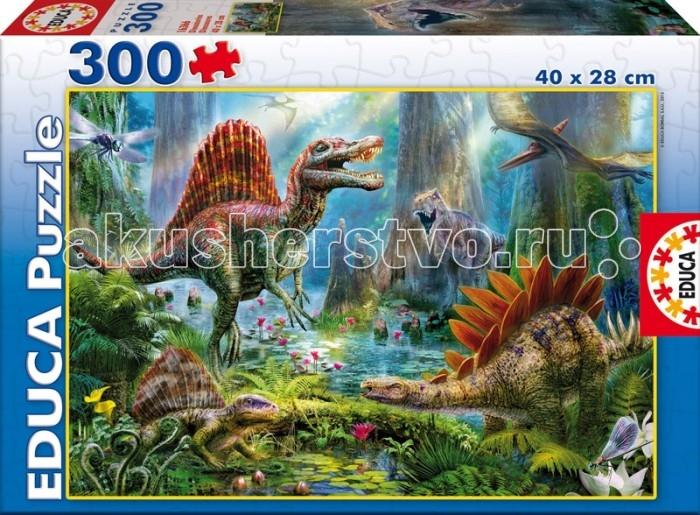 Educa Пазл Динозавры 300 деталей