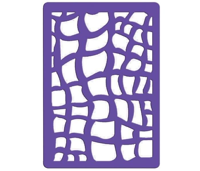Fancy Creative Трафарет для тиснения Питон пластик A6