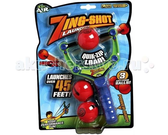 Zing Рогатка с 3-мя мягкими шарикамиРогатка с 3-мя мягкими шарикамиZing Рогатка с 3-мя мягкими шариками небольшая рогатка, которая стреляет гораздо дальше и метче обычной. Особые мягкие шарики-снаряды с выемками по бокам легко устанавливаются, всегда остаются точно в центре и не выскальзывают.  Усовершенствованная рогатка с безопасными мягкими шариками-снарядами – в комплекте 3 шарика.   Дальность полета до 15 метров!<br>