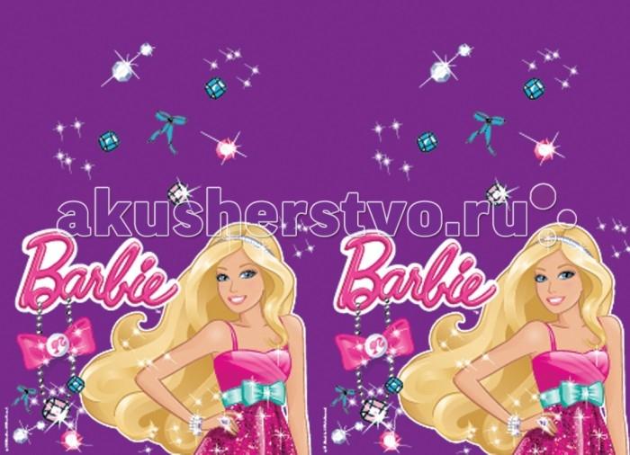 Olala Скатерть полиэтиленовая Стразы BarbieСкатерть полиэтиленовая Стразы BarbieЯркая Скатерть полиэтиленовая Стразы Barbie украсит праздничный стол для детей и поднимет настроение всем участникам торжества.  Размер скатерти: 133х183 см<br>