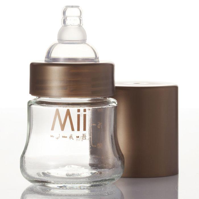 Бутылочки Mii Glass стекло 118 мл