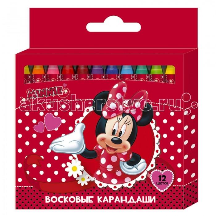 Disney Восковые карандаши Минни 12 цветов