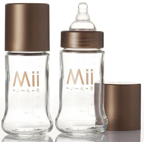 Бутылочки Mii Glass стекло 2 шт. 237 мл