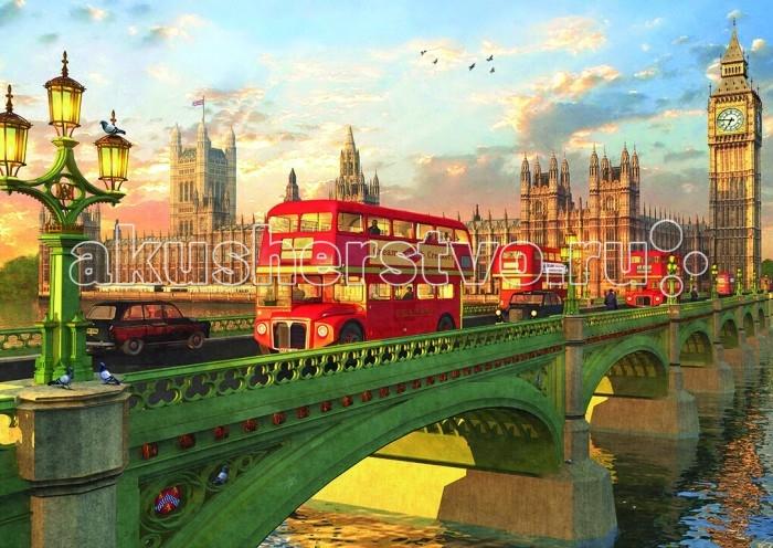 Educa Пазл Вестминстрерский мост, Лондон 2000 деталейПазл Вестминстрерский мост, Лондон 2000 деталейПазл Вестминстрерский мост, Лондон состоит из 2000 деталей.  Размер собранной картинки: 96*68 см.  Правила игры: вскрыть упаковку и собрать игру по картинке.  В комплект входит сухой клей.<br>
