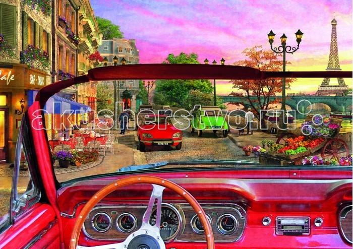 Educa Пазл Париж в автомобиле 1500 деталейПазл Париж в автомобиле 1500 деталейПазл Париж в автомобиле состоит из 1500 деталей.  Размер собранной картинки: 85*60 см.  Правила игры: вскрыть упаковку и собрать игру по картинке.  В комплект входит сухой клей.<br>