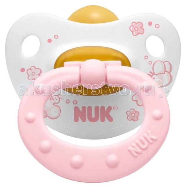 Пустышка Nuk ортодонтическая латексная Baby Rose, размер 1 (0-6 мес.)ортодонтическая латексная Baby Rose, размер 1 (0-6 мес.)Современный дизайн и ортодонтическая форма NUK  Ортодонтическая форма соски-пустышки NUK обеспечивает формирование правильного прикуса и челюстно-лицевого аппарата в целом, а красочный рисунок понравится Вашему ребенку. Загубник анатомической формы полностью прилегает к лицу ребенка и оснащен специальным вентиляционным отверстием.  Как и все соски NUK имеет клапанную систему NUK AIR SYSTEM - воздух выходит через специальное отверстие, благодаря чему пустышка остается мягкой и сохраняет свою форму, что предотвращает деформацию полости рта ребенка.  Рисунок может отличаться, от представленного на фото!<br>