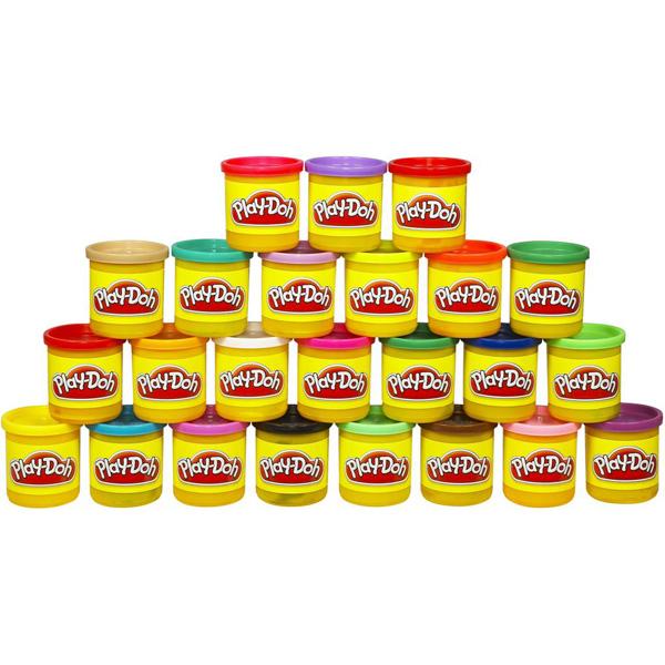 Пластилин Play-Doh Hasbro Набор пластилина 24 баночки