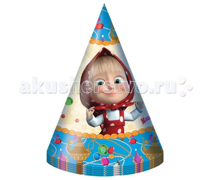 Olala Колпачки Машины сказкиКолпачки Машины сказкиКолпачки Машины сказки - великолепное дополнение к празднику малыша. В наборе 6 бумажных колпаков.<br>