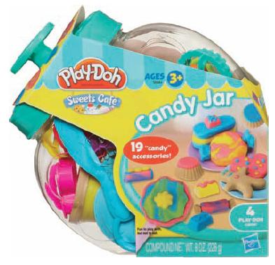 Пластилин Play-Doh Hasbro Игровой набор Банка со сладостями