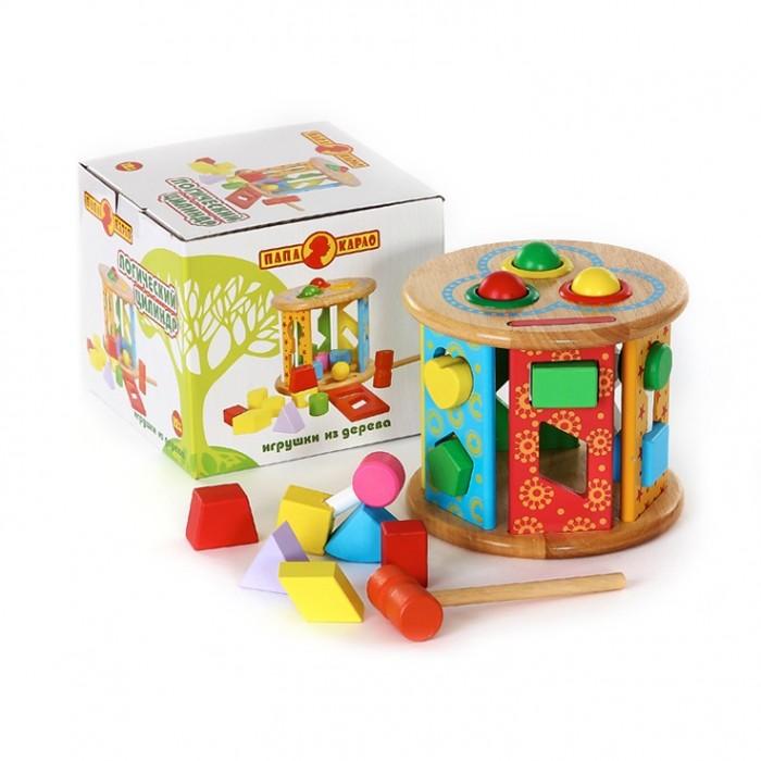 Деревянная игрушка Папа Карло Цилиндр