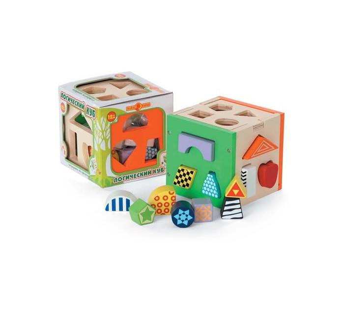 Деревянная игрушка Папа Карло Куб логическийКуб логическийДеревянная игрушка Папа Карло Куб логический познакомит ребенка с геометрическими фигурами и цветами, научит соотносить фигуру и контур.   Особенности: Сортер выполнен в виде кубика, на трех стенках и крышке которого имеются отверстия различных геометрических форм. После того, как все фигурки окажутся внутри игрушки, их можно достать, сняв крышку кубика.  Изделие выполнено из натурального дерева и покрашено безопасными красками на основе пищевых красителей.  Игрушка помогает в развитии мышления, мелкой моторики, внимания, памяти, подготовке руки к письму.  Детские игрушки - это одни из главных помощников в развитии ребенка. На сегодняшний день большой популярностью пользуются деревянные игрушки. Бренд Папа Карло представляет огромный ассортимент развивающих пазлов, конструкторов, наборов из 100% экологичных материалов. Деревянные игрушки от Папы Карло приятны на ощупь. Различные кубики, головоломки, пирамидки помогают развивать геометрическое и тактильное восприятие, логику. Яркие цвета радуют глаз малыша.<br>