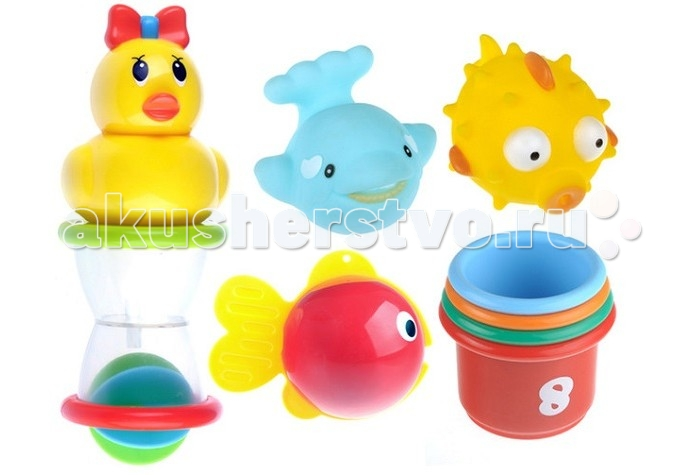 S+S Toys Игровой набор для ванны