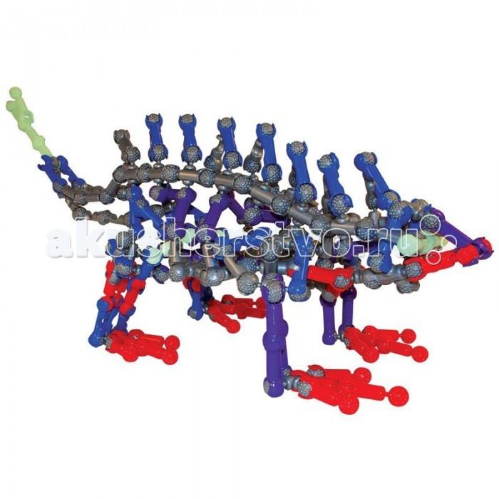 Конструктор Zoob Glow Dinos 250 элементов