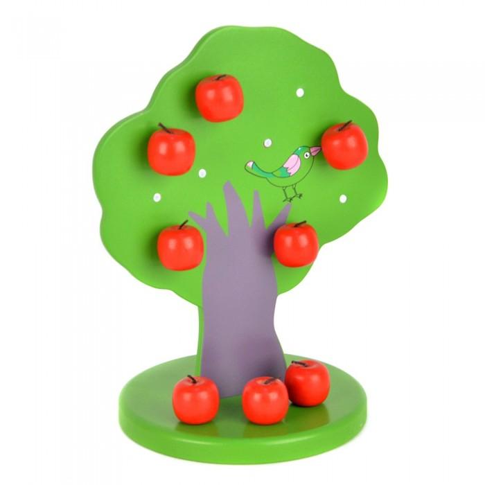 Деревянная игрушка Папа Карло Пазл 9470R (48)Пазл 9470R (48)Деревянная игрушка Папа Карло Пазл 9470R (48) станет отличным развлечением для ребенка.   Особенности: Изделие выполнено из натурального дерева и покрашено безопасными красками на основе пищевых красителей.  Игрушка помогает в развитии мышления, мелкой моторики, внимания, памяти, подготовке руки к письму.  В наборе: дерево, 10 яблоков на магните.  Детские игрушки - это одни из главных помощников в развитии ребенка. На сегодняшний день большой популярностью пользуются деревянные игрушки. Бренд Папа Карло представляет огромный ассортимент развивающих пазлов, конструкторов, наборов из 100% экологичных материалов. Деревянные игрушки от Папы Карло приятны на ощупь. Различные кубики, головоломки, пирамидки помогают развивать геометрическое и тактильное восприятие, логику. Яркие цвета радуют глаз малыша.<br>