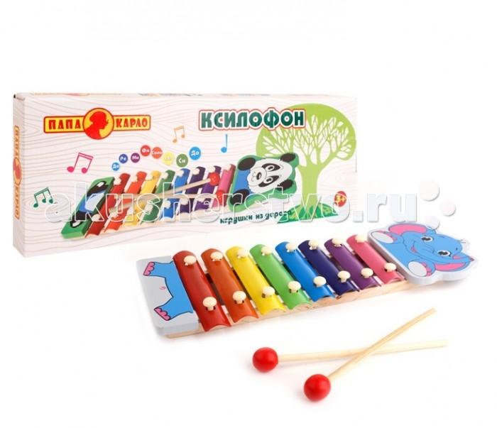 Музыкальная игрушка Папа Карло Ксилофон 7640R от Акушерство