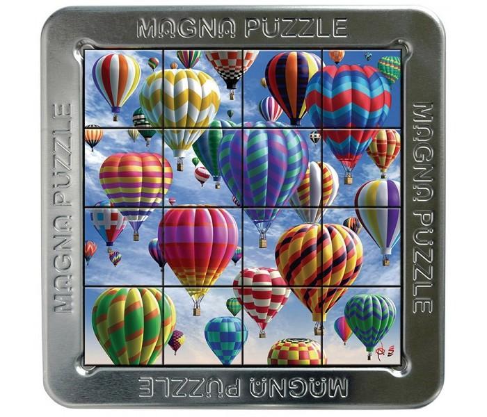 Magna 3D пазл Воздушные шары3D пазл Воздушные шарыMagna 3D пазл Воздушные шары.  Magna Puzzle - это магнитный пазл с трехмерным эффектом. Картинка на деталях меняется в зависимости от угла, под которым вы на нее смотрите. Ваша задача - соединить детали в правильном порядке и получить целостное изображение.  Магнитный пазл с вдохновляющим рисунком Воздушные шары. Соберите пазл и отправляйтесь в воздушное путешествие! Собрать пазлы Магна достаточно сложно в первую очередь из-за трехмерного изображения на деталях. На первый взгляд все просто, но стоит вам отвлечься, как деталь поменяет рисунок! Будьте внимательны, и у вас все получится. Пазл удобно собирается на крышке коробки, для сборки есть специальная выемка. Внутренняя часть коробки поможет при сборке – на железной поверхности удобно раскладывать магнитные детали.<br>