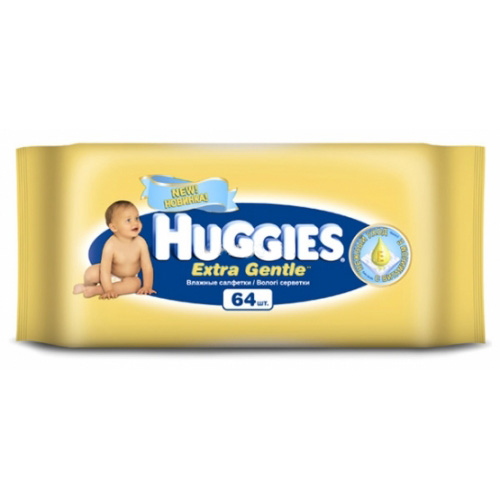 Huggies �������� Extra Gentle 64 ��., �������� ����