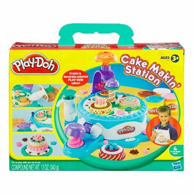 Пластилин Play-Doh Hasbro Набор пластилина Фабрика тортиков
