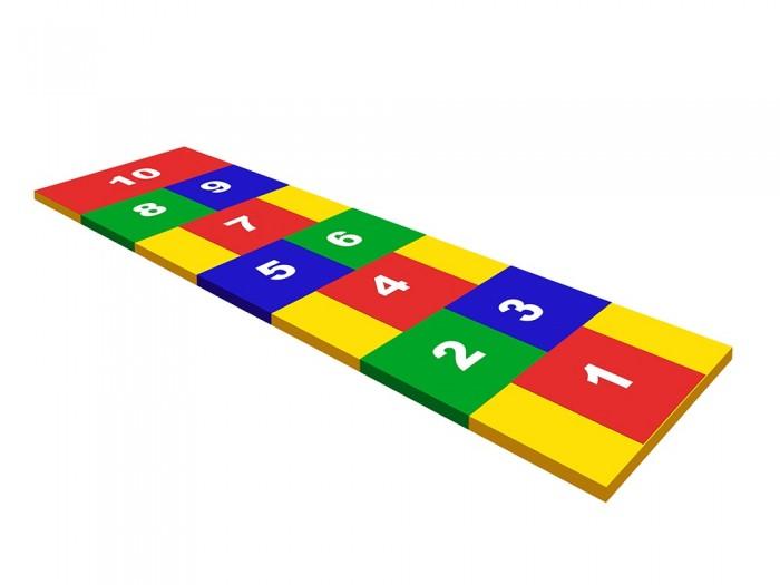 Игровой коврик Romana КлассикиКлассикиКоврик «Классики» - это цветная дорожка с изображением цифр для игры в классики. Так же помогает изучить цифры, цвета и развить координацию.   Занимаемая площадь:  2.10 х 0.60 м Высота:  0.03 м Допустимая нагрузка:  50 кг  Мягкая форма предназначена для выполнения спортивных и игровых занятий. Может использоваться отдельно или в составе детских игровых комплексов в домашних условиях. Изготовитель гарантирует соответствие изделия требованиям ГОСТ 25779-90.<br>
