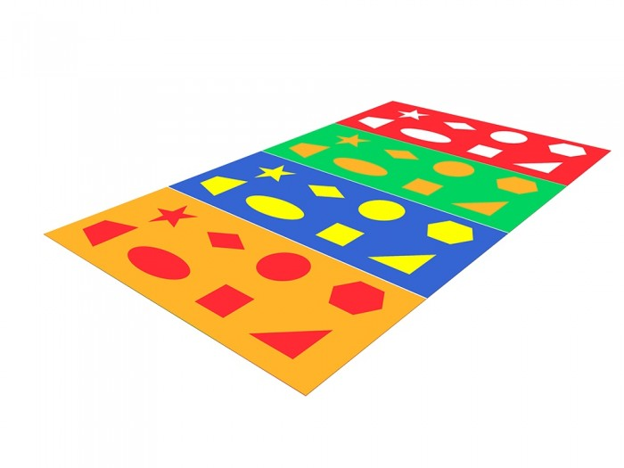 Игровой коврик Romana Найди фигуру