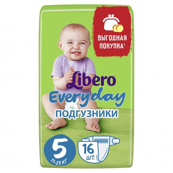 Libero Подгузники EveryDay с ромашкой (11-25 кг) 16 шт.