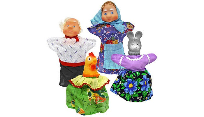 Русский стиль Кукольный Театр Курочка РябаКукольный Театр Курочка РябаРусский стиль Кукольный Театр Курочка Ряба. Кукольный театр как и раньше сейчас достаточно востребован. И по популярности не уступает ни цирковым, ни театральным представлениям. Детки с удовольствием смотрят кукольные постановки, кричат, когда герой в опасности, подсказывают куда бежать или помогают добрым персонажам решить трудные задачки.  Можно придумать свою историю и развернуть интересную захватывающую игру. В процессе игры у ребенка развивается мелкая моторика рук, фантазия и творческие способности.  Развивает: мелкую моторику фантазию и творческие способности зрительное и слуховое восприятие<br>