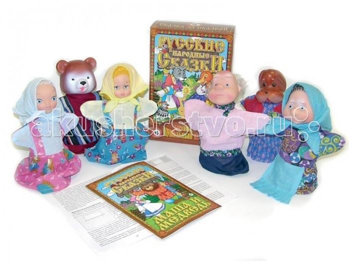 Русский стиль Кукольный Театр Маша и медведь