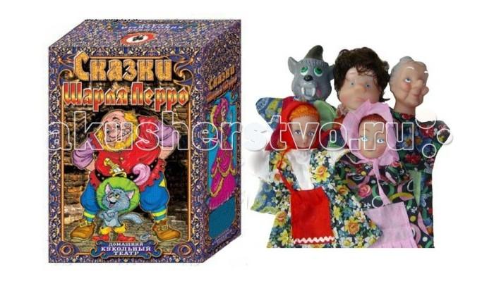 Русский стиль Кукольный Театр Красная шапочка