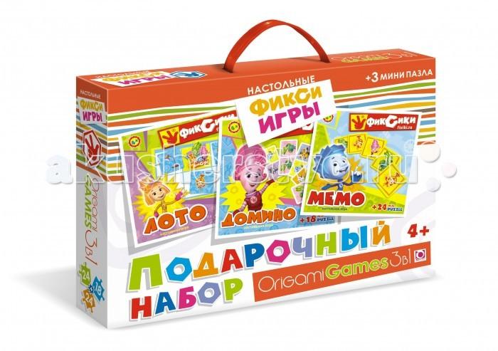 Origami Фиксики Подарочный набор 3 в 1