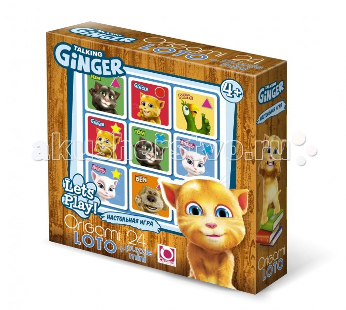 Origami TF Настольная игра Лото+пазл (24 элемента)