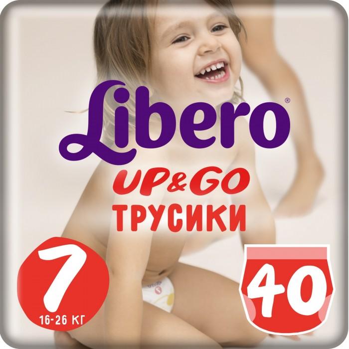 Подгузники Libero Подгузники-трусики Up&Go Mega Pack (16-26 кг) 40/42 шт.