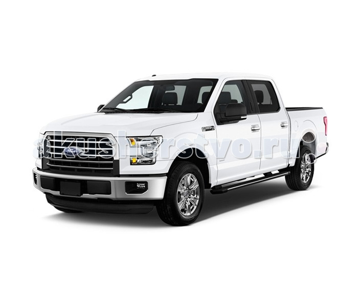 Welly Модель машины 1:24 Ford F-150Модель машины 1:24 Ford F-150Модель машины Welly 1:24 Ford F-150  Коллекционная модель Ford F-150 от Welly создана по лицензии автопроизводителя и является почти точной копией настоящего автомобиля. Модель основана на модель Форд Ф-150 2015 года выпуска. У машинки прорезиненные шины, открываются двери и капот, присутствует эмблема Ford, а фары выглядят достаточно реалистично.  Машина Ford F-150 - полноразмерный пикап, мощный и вместительный. Модельный ряд 2015 года отличается сниженным весом кузова, наличием множества современных систем безопасности, эргономичным дизайном. Пикап Ford F-150 - прекрасный пример американского стиля в автомобилестроении.<br>