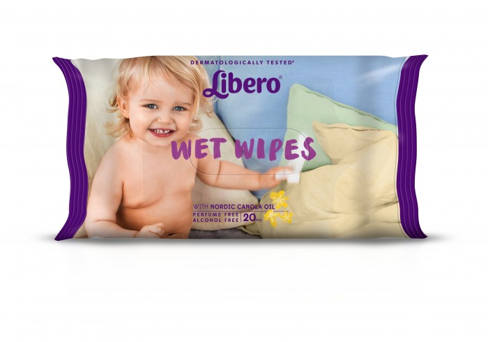 Libero Очищающие влажные салфетки 20 шт.Очищающие влажные салфетки 20 шт.Очищающие влажные салфетки Libero, не содержат отдушек, мягко и нежно заботятся о коже вашего малыша, не содержат спирта.  Влажные салфетки Libero с экстрактом алоэ идеально подходят для очищения кожи малыша при смене подгузника.  Упаковка: 20 штук.  Страна производства: Германия<br>