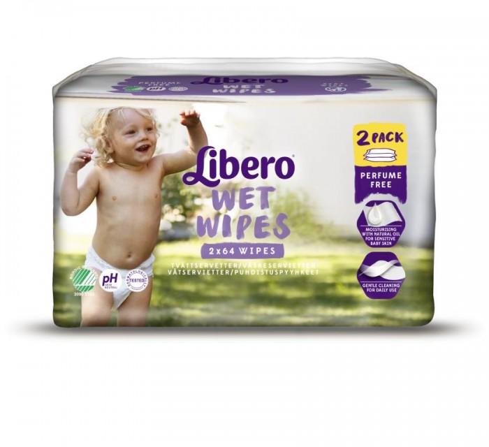 Libero Очищающие влажные салфетки Econom 128 шт. запасной блокОчищающие влажные салфетки Econom 128 шт. запасной блокОчищающие влажные салфетки Libero, не содержат отдушек, мягко и нежно заботятся о коже вашего малыша, не содержат спирта.  Сменный блок для влажных салфеток Либеро, 128 штук  Влажные салфетки Libero с экстрактом алоэ идеально подходят для очищения кожи малыша при смене подгузника.   Страна производства: Германия<br>