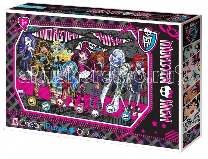 Origami Monster High Пазл 05910 (60 элементов)