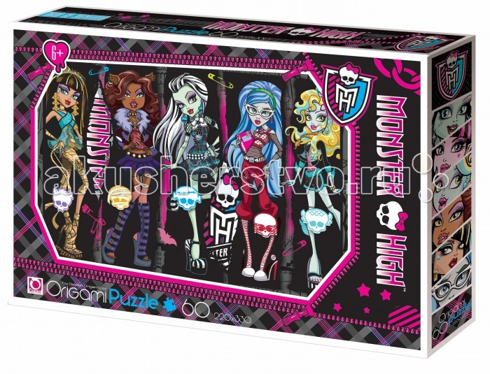 Origami Monster High Пазл 05911 (60 элементов)