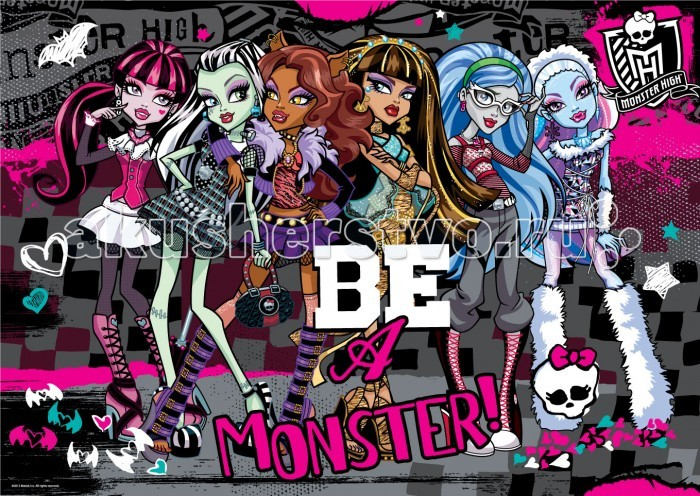 Origami Monster High Пазл 05355 (260 элементов)