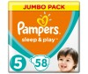 Pampers Подгузники Sleep & Play Jumbo Ромашка (11-18 кг) 58 шт.