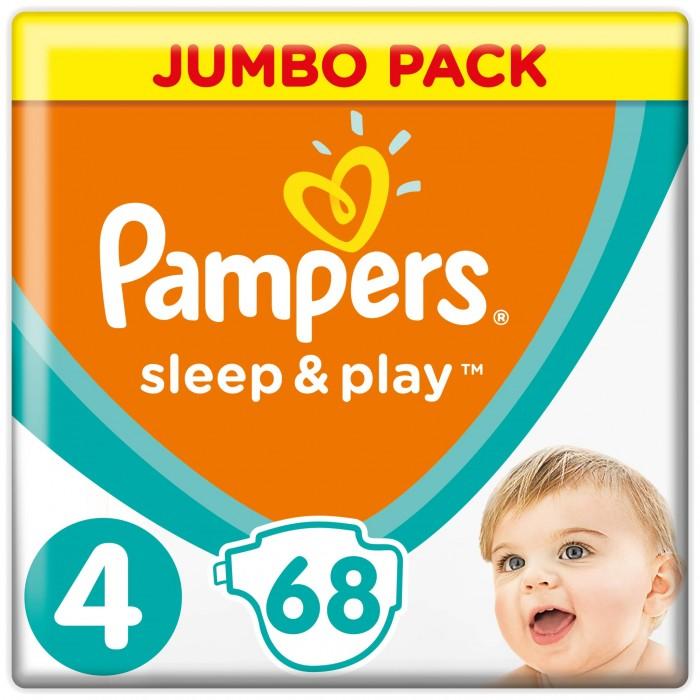 Подгузники Pampers Подгузники Sleep & Play Ромашка (7-14 кг) 68 шт.