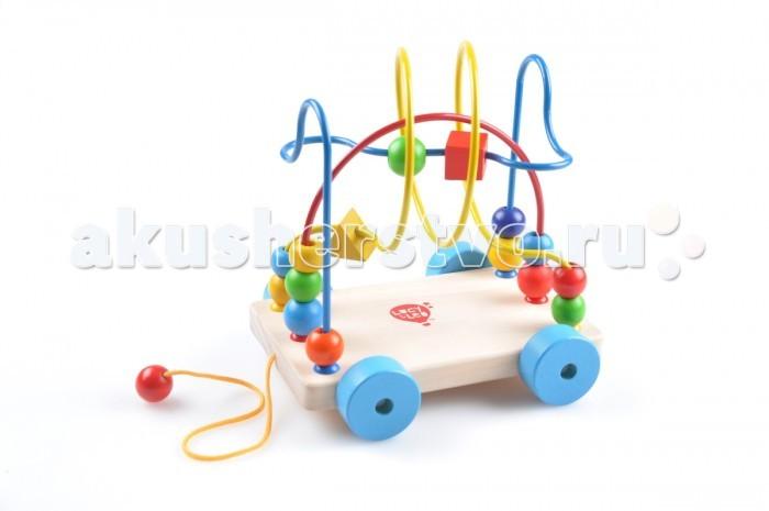 Деревянная игрушка Lucy & Leo Лабиринт-Каталка