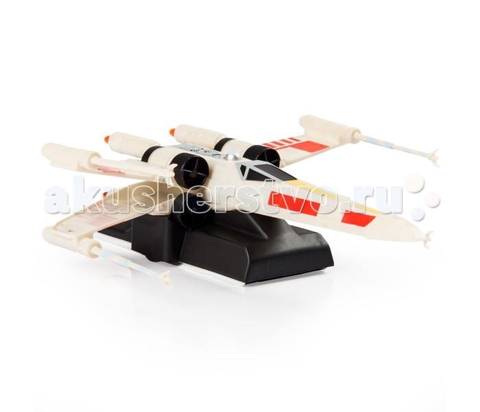 Star Wars Spin Master Машинка Air Hogs Звездные войныSpin Master Машинка Air Hogs Звездные войныМашинка Star Wars Spin Master Air Hogs Звездные войны на дистанционном управлении, способная передвигаться не только по полу, но и по стенам и по потолку.  Благодаря мощным вентиляторам, создающим поле разряженного воздуха, игрушка способна перемещаться по любой чистой и ровной поверхности. Корпус машинки выполнен в форме классических истребителей вселенной Звёздных Войн: повстанческий X-Wing и имперский Tie Fighter.   Особенности   Внутри машинки находится встроенный аккумулятор, который заряжается от пульта управления.   Корпус игрушки выполнен из ударопрочного пластика, ему не страшны падения с потолка и стен.   Перемещается по любой ровной и чистой поверхности (пол, потолок, стены)  Движется за лазерным лучом   Батарейки в комплект не входят.  Внимание! Расцветки в ассортименте!<br>