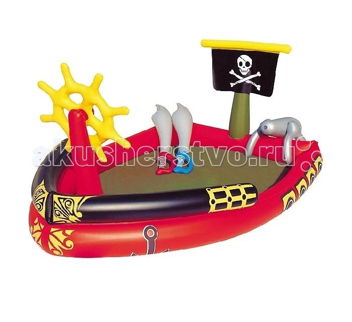 Бассейн Bestway Пиратский корабль с водняной пушкой от Акушерство
