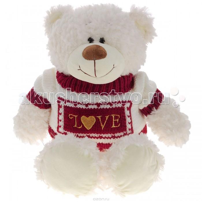 Мягкая игрушка Plush Apple Медведь Северный в вязанном свитере 50 смМедведь Северный в вязанном свитере 50 смМедведь Северный в вязанном свитере 50 см.  С игрушкой можно придумать множество интересных сюжетов для игр, а также очень приятно засыпать вечером.   Игрушка изготовлена из экологически чистых материалов и не навредит ребенку.<br>