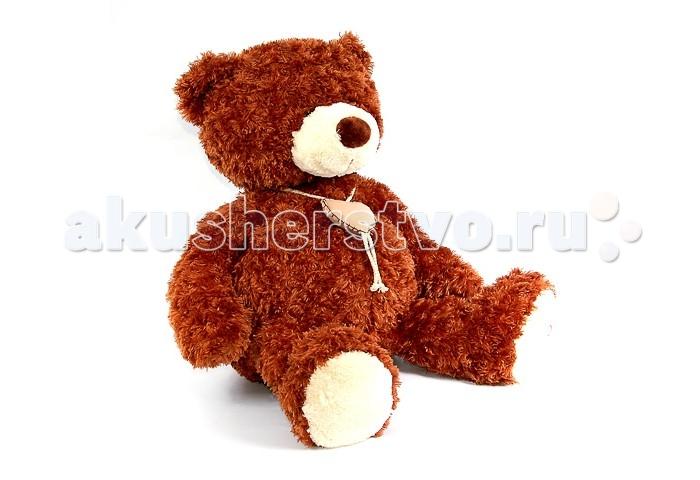 Мягкая игрушка Plush Apple Медведь с сердцем 48 смМедведь с сердцем 48 смМедведь с сердцем 48 см.  Любимый мишка – это одна из самых желанных игрушек для детей, которые мечтают о собственном питомце.   Изготовлен из экологически чистого текстиля, наполнитель синтепон.  При изготовлении используются новейшие материалы, уникальная технология, авторский дизайн и ручная проработка деталей.<br>