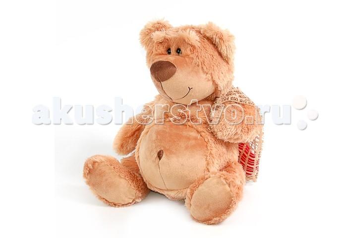 Мягкая игрушка Plush Apple Медведь с сердцем в мешочке 31 смМедведь с сердцем в мешочке 31 смМедведь с сердцем в мешочке 31 см.  Любимый мишка – это одна из самых желанных игрушек для детей, которые мечтают о собственном питомце.   Изготовлен из экологически чистого текстиля, наполнитель синтепон.  При изготовлении используются новейшие материалы, уникальная технология, авторский дизайн и ручная проработка деталей.<br>
