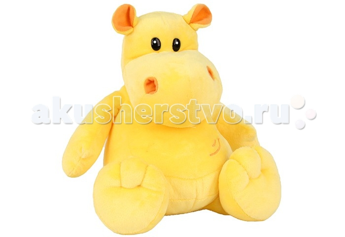 Мягкая игрушка Plush Apple Бегемот желтый 27 см