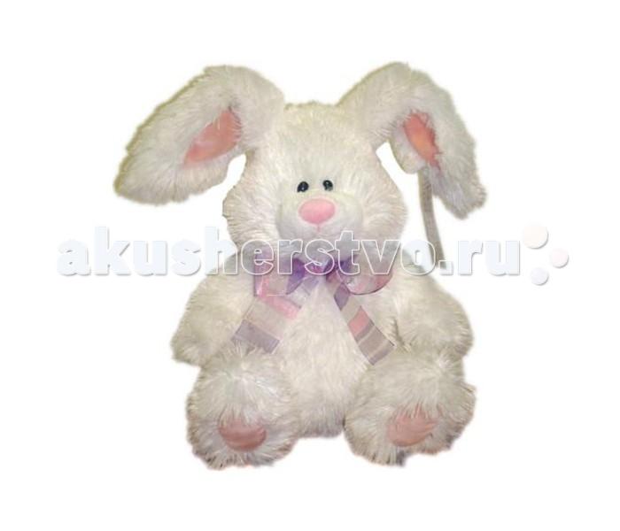 Мягкая игрушка Plush Apple Кролик Белый с бантиком 31 смКролик Белый с бантиком 31 смКролик Белый с бантиком 31 см.  С игрушкой можно придумать множество интересных сюжетов для игр, а также очень приятно засыпать вечером.   Игрушка изготовлена из экологически чистых материалов и не навредит ребенку.<br>